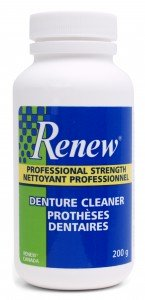 Renew Denture Cleaner